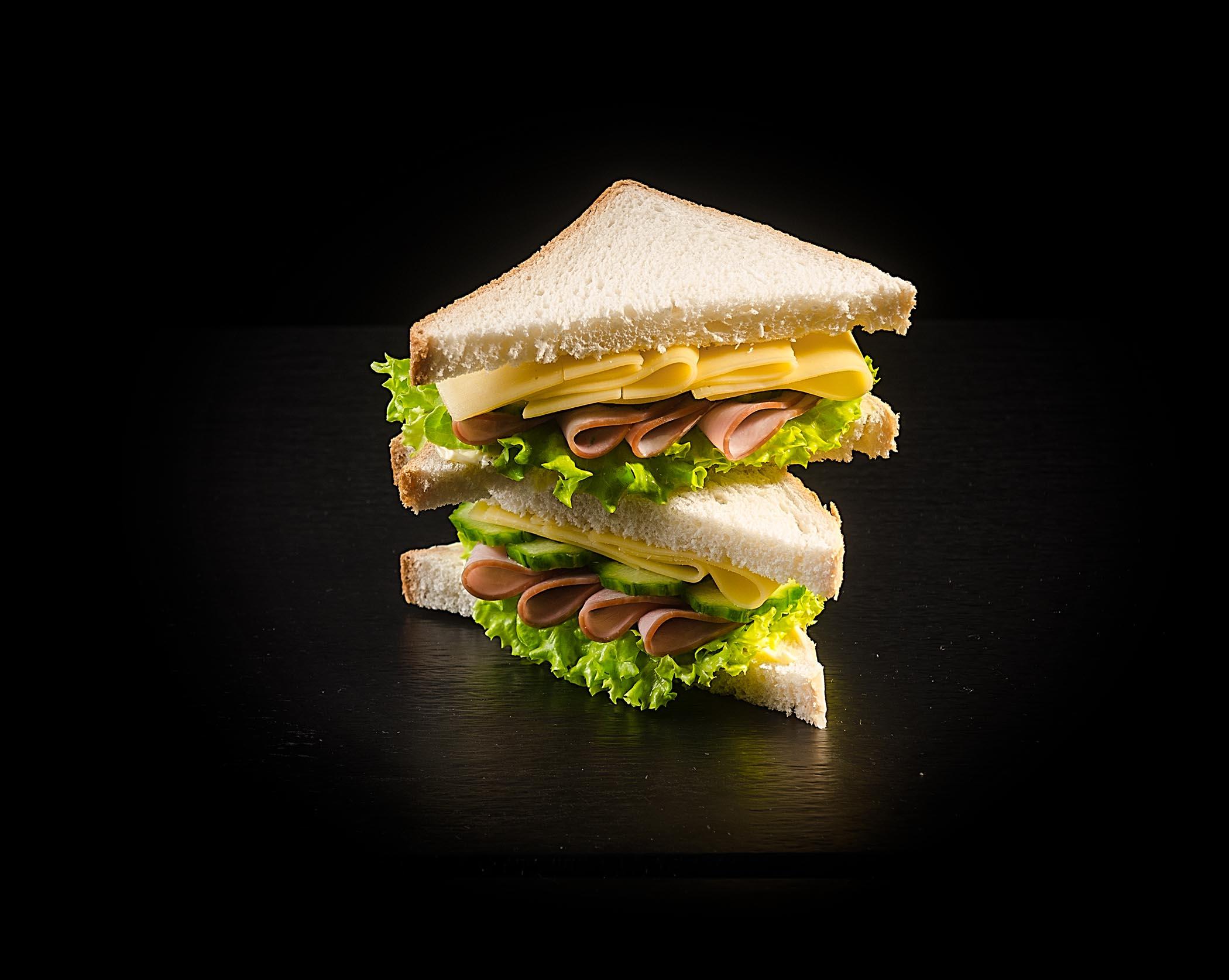 картинки сэндвичей на черном фоне более
